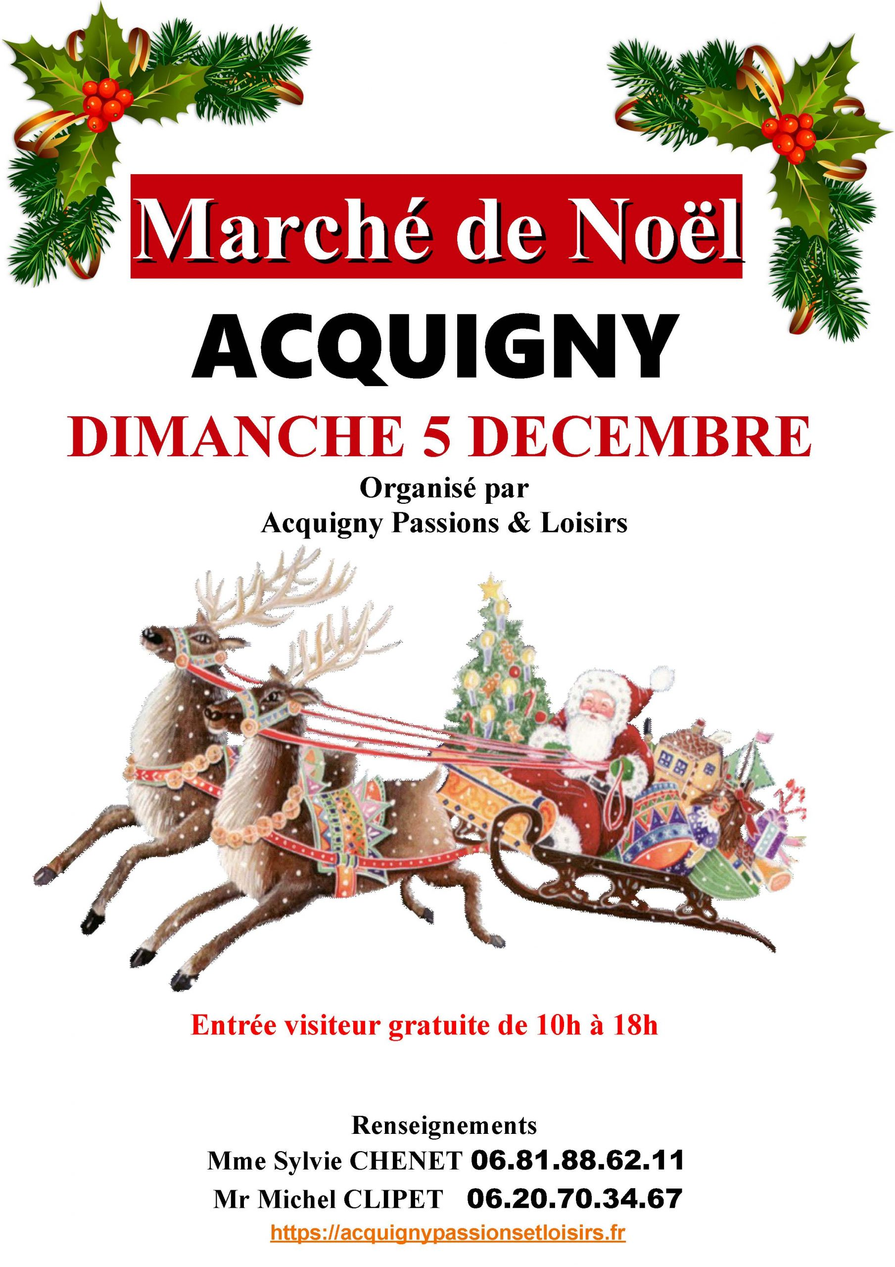 Marché de Noel d'ACQUIGNY