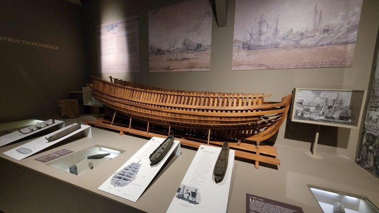 le musée sur l'île de Tatihou