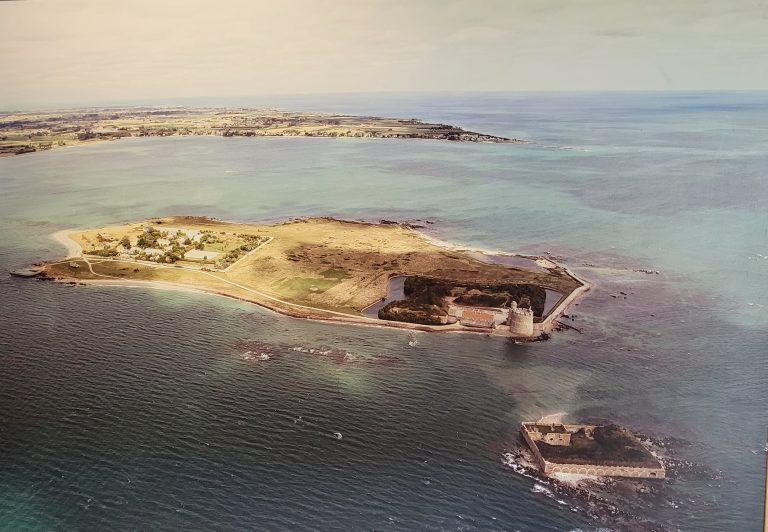 la pointe de l'île
